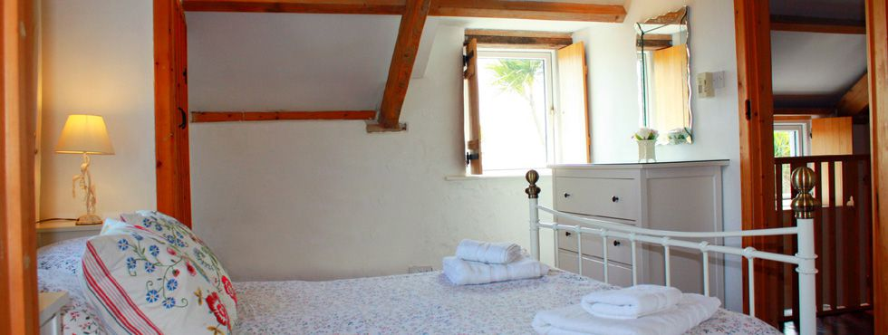 The Charming Master Bedroom of The Granary
